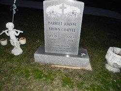Harriet Joanne <I>Brown</I> Chaffee
