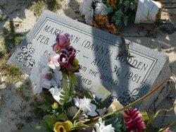 "Mary Ann ""Danny"" <I>Hurlston</I> Bodden"