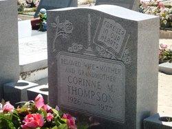 Corinne M. <I>Bush</I> Thompson