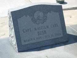 Capt Malcolm Carl Bush