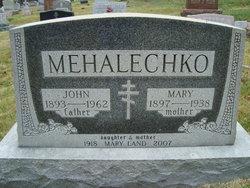 Mary <I>Timko</I> Mehalechko