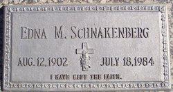 Edna M. <I>Getz</I> Schnakenberg