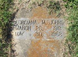 Georgiana M. Johns