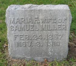 Marie E Miller