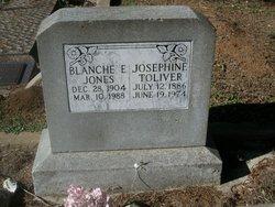 Blanche E Jones