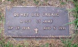Dewey Lee Creaig, Jr
