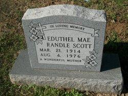Eduthel Mae <I>Randle</I> Scott