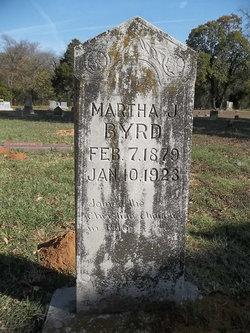 Martha J <I>Decker</I> Byrd