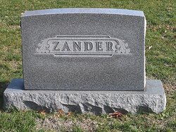 Margaret Augusta <I>Foster</I> Zander