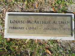 Louise McArthur Altman