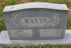 Theoda Sarah Jane <I>Smith</I> Watts