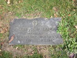 Clarence W Lange