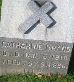 """Catharine """"Kate"""" <I>Buchheit</I> Brand"""