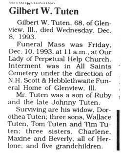 Gilbert W. Tuten