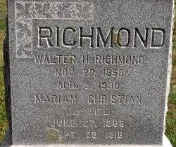 Mariam <I>Christian</I> Richmond