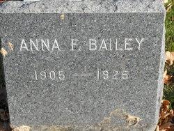 Anna E Bailey