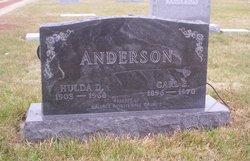Hulda D. <I>Dretsch</I> Anderson