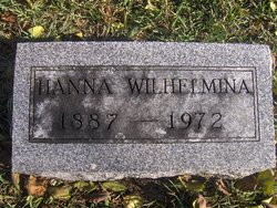 Hanna Wilhelmina Johnson