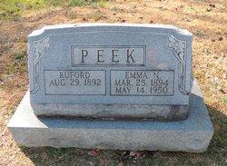 Emma Nora <I>Jennings</I> Peek