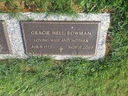 Gracie <I>Nell</I> Bowman
