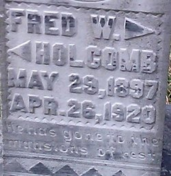 Fred W Holcome