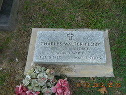Corp Charles Walter Flory