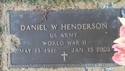 Daniel Webster Henderson