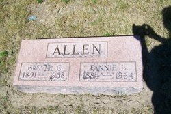 Fannie L <I>Rixom</I> Allen
