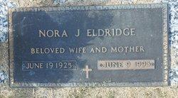Nora Jeanette <I>Toole</I> Eldridge