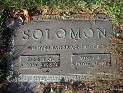 Emmett O Solomon