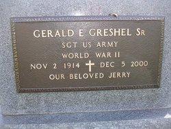 Gerald E. Greshel, Sr