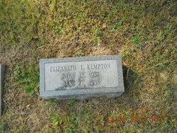 Elizabeth L Kempton