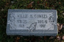Willie H. Cowles