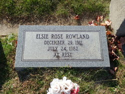 Elsie Rose Rowland