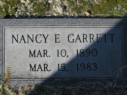 Nancy E Garrett