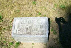 Alice C. <I>Beevers</I> Beening