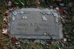 Anna B. Dowdell