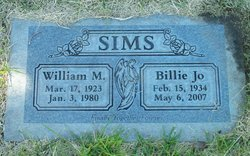 Billie Jo <I>Callan</I> Sims