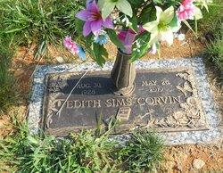 Edith Geraldine <I>Sims</I> Corvin