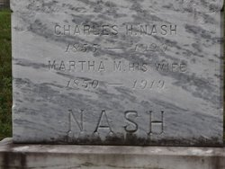 Martha Maria <I>Keene</I> Nash