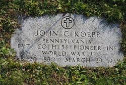 John C Koepp