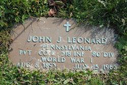 John J Leonard