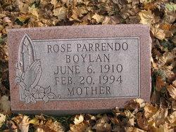 Rose <I>Parrendo</I> Boylan