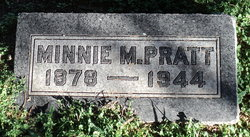 Minnie <I>McBroom</I> Pratt