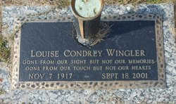 Louise <I>Condrey</I> Wingler