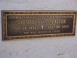 Gwendolyn Yvonne Keyser