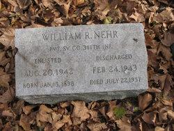 Pvt William R. Nehr