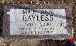 Mary Ann Bayless