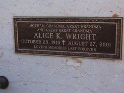 Alice K. Wright