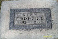 Ruth H Groseclose